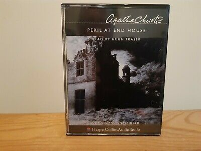 Peril At End House By Agatha Christie 4 Cassette Unabridged Audio Book Poirot • 4.99£