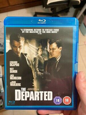 The Departed (Blu-ray, 2007) • 3.50£