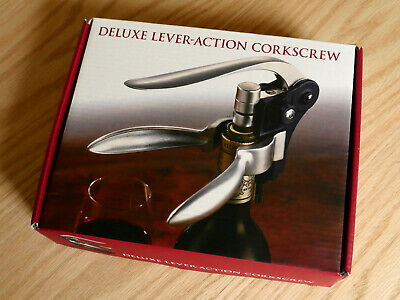 Deluxe Lever-Action  Rabbit  Corkscrew (silver And Black) • 6£