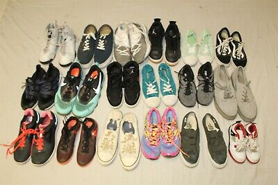 $ CDN53.20 • Buy Sport Sneakers Shoes Lot Wholesale Used Rehab Resale Nike Vans 28 LB COLLECTION