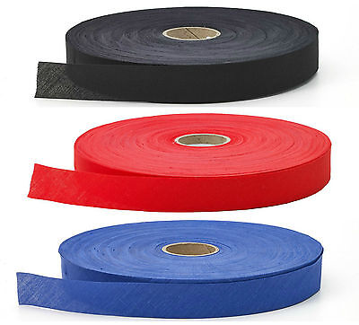 Cotton Flat Nonfolded Bias Binding Tape 25mm, Choose Colour & Length, Free P&p • 4.99£