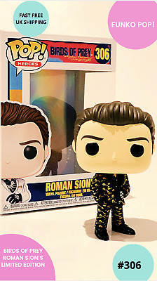 Funky Pop! Birds Of Prey-  ROMAN SIONIS Vinyl Figure LIMITED EDITION CHASE #306 • 9.99£