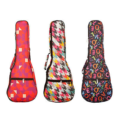 AU15.54 • Buy 21/23/26'' Ukelele Carrying Case Soprano Concert Tenor Uku Padded Backpack