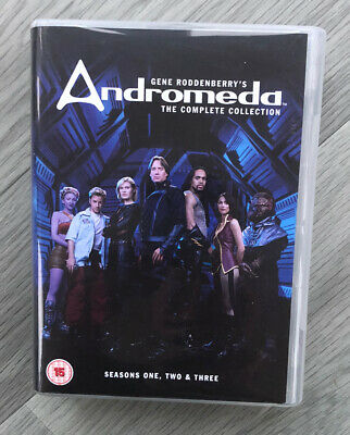 Andromeda The Complete Collection Series One Two & Three DVD - Pre Owned • 32.99£