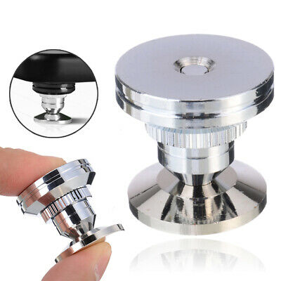 Stainless Steel Speaker Spike+ Base Pad Amplifier Isolation Cone Stand Feet Uk • 5.59£