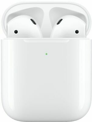 $ CDN97.86 • Buy Apple AirPods With Wireless Charging Case 2nd Generation - White (MRXJ2AM/A) VG