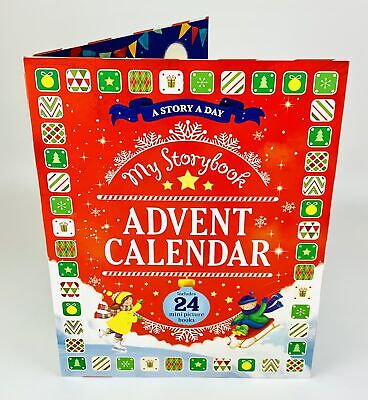 My Storybook Story A Day 24 Mini Picture Books Christmas Festive Advent Calendar • 14.99£