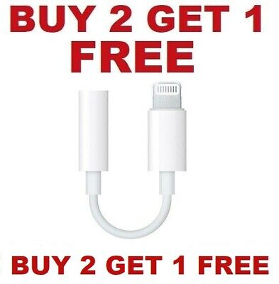 $ CDN6.24 • Buy For Apple IPhone Headphone Adapter Jack 3.5mm Aux Cord Dongle