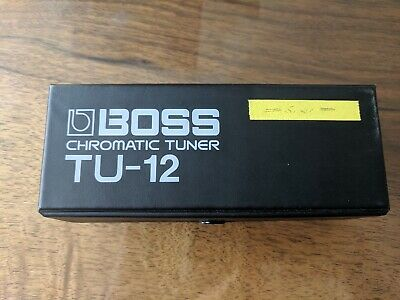 $ CDN88.81 • Buy Boss Chromatic Tuner Tu-12 Guitar Effect Pedal