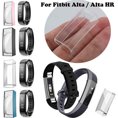 $ CDN5.37 • Buy For Fitbit Alta/HR TPU Full Cover Screen Protector Guard Case Watch Accessories