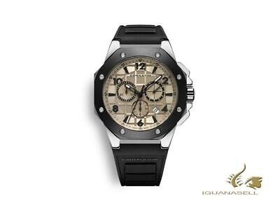 Cornavin Downtown Sport Quartz Watch, Chronograph, 44,5mm, Silver, CO2012-2006R • 515£