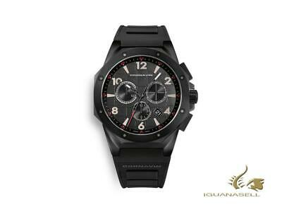Cornavin Downtown Sport Quartz Watch, Chronograph, 44,5mm, Black, CO2012-2008R • 655£