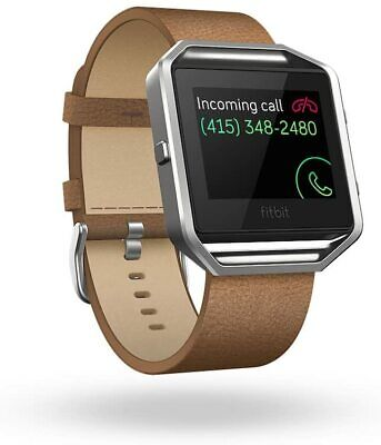 $ CDN32 • Buy Fitbit Blaze Accessory Leather Band Camel Large