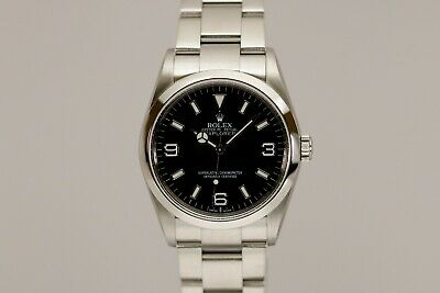 $ CDN8748.02 • Buy Rolex Explorer Ref 114270 36mm Automatic Watch Z Series With Card
