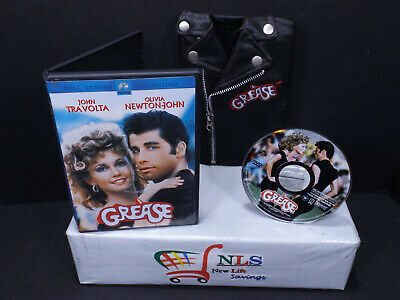 £21.63 • Buy Grease & Grease 2 DVD W/ T Birds Rockin Rydell Edition Leather Jacket DVD Cover