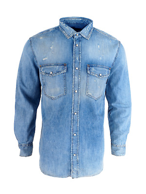 Diesel Men`s Shirts Size L Made In Italy • 30£