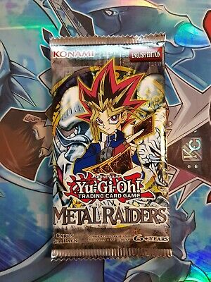 Yu-Gi-Oh! Metal Raiders | Sealed Booster Pack • 12.75£