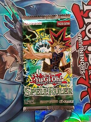 Yu-Gi-Oh! Spell Ruler | Sealed Booster Pack - Vintage • 13.75£
