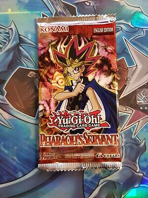 Yu-Gi-Oh! Pharaoh's Servant | Sealed Booster Pack - Unsearched • 10.75£