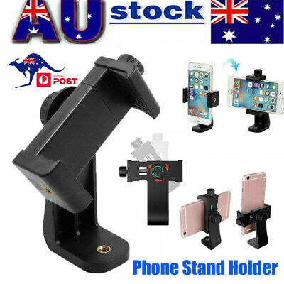 AU12.99 • Buy Universal Smartphone Tripod Adapter Phone Stand Holder Mount For IPhone Samsung