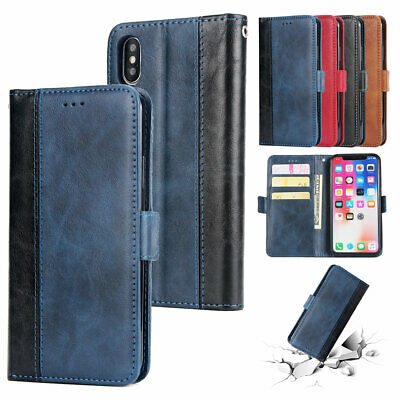 AU12.35 • Buy For IPhone 12 11 Pro Max XS XR 8 7 6 Cash Card Holder Leather Wallet Case Cover