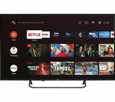 """View Details JVC LT-40CA790 Android TV 40"""" Smart Full HD LED TV Google Assistant - Currys • 219.99£"""