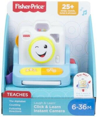 Fisher-price Laugh & Learn Click & Learn Instant Camera • 17.99£