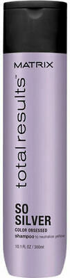 £8.45 • Buy Matrix Total Results Color Obsessed So Silver Shampoo 300 Ml