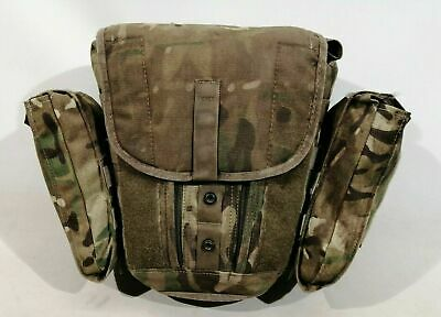 British Army MTP Field Pack Haversack Respirator Bag Gas Mask Molle Grade 2 • 11.99£