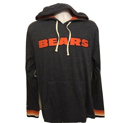$58.99 • Buy Mitchell & Ness Chicago Bears Sz Large Lightweight Pullover Hoodie NWT