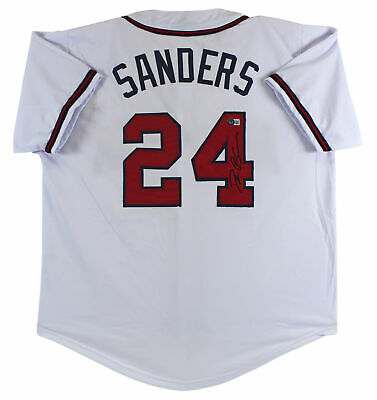 $ CDN225.56 • Buy Deion Sanders Authentic Signed White Pro Style Jersey Autographed BAS Witnessed