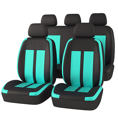 AU66.49 • Buy Universal Car Seat Covers Breathable Comfortable Mesh Mint Airbag Compatible 9PC