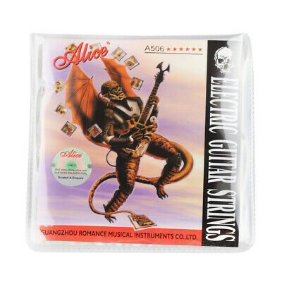$ CDN8.47 • Buy Alice Electric Guitar Strings Set 08-38 Gauge Plated Steel Coated A506-XL Light