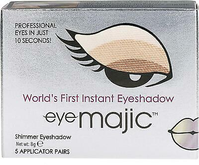 Eye Majic Instant Eyeshadow 5 Pair Pack Easy Makeup In 10 Seconds  Cappuccino • 8.98£