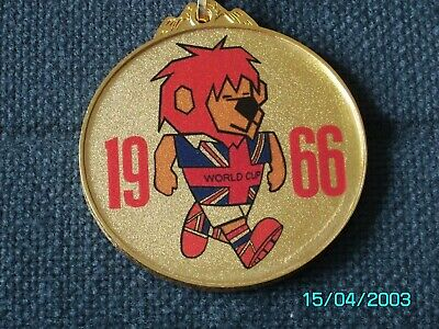 £12.99 • Buy 1966 England World Cup Willie Medal - Ribbon