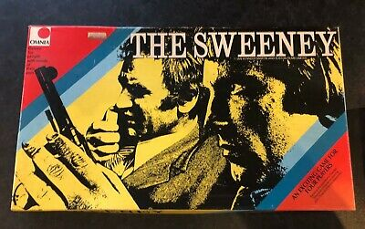 Vintage The Sweeney Board Game By Omnia 1975 • 16.98£