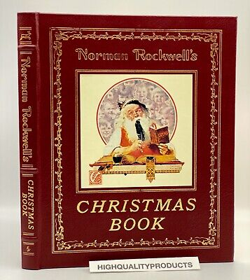 $ CDN114.82 • Buy Easton Press NORMAN ROCKWELLS CHRISTMAS BOOK Stories Collectors LIMITED Edition