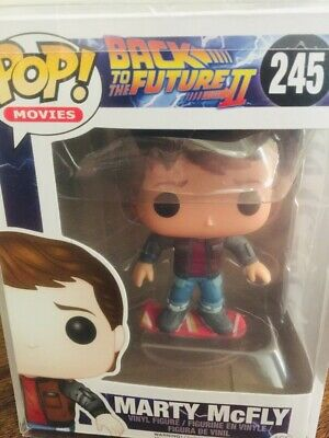 $ CDN63.87 • Buy Funko POP Back To The Future #245 Marty McFly Hoverboard Vaulted POP PROTECTOR
