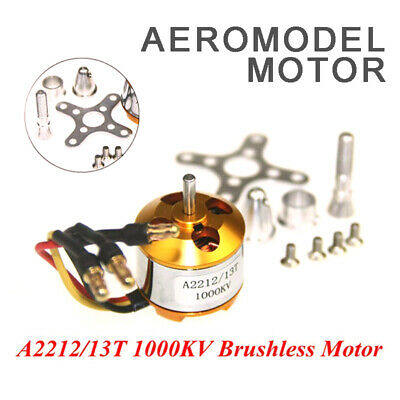 A2212 1000KV Outrunner Brushless Motor For RC Aircraft Helicopter Quadcopter • 6.35£