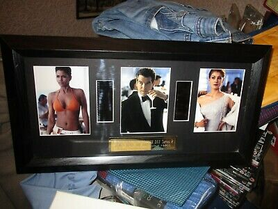 James Bond Die Another Day 007 Film Cell / Film Cells Limited Edition 49/200 • 49.99£