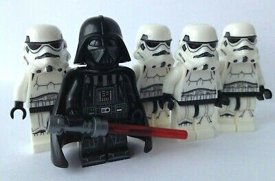 Vader With Storm Troopers Star Wars 5X Mini-figures Fits Lego • 8.99£