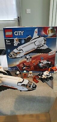 Lego City 60226 Mars Research Shuttle. With Box. No Instructions. COMPLETE • 17£