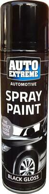 Tint  Auto Extreme Aerosol Spray Paint Black Gloss 2 X 250ml  • 9.49£
