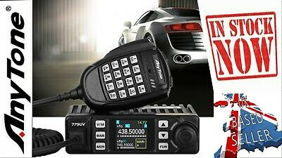 AT-779UV Dual Band UHF/VHF Mobile Car Amateur Ham Radio Multi Functional Mic • 120£