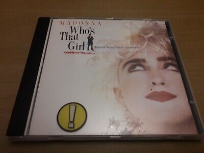 Madonna - Who's That Girl Rare German Import CD • 0.49£