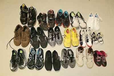 $ CDN53.20 • Buy Sport Sneakers Shoes Lot Wholesale Rehab Resale 25 Pound Mixed Brand Collection