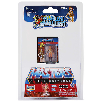 $9.99 • Buy World's Smallest Masters Of The Universe Micro Action Figure - TEELA