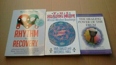 Rhythm To Recovery The Healing Drum The Healing Power Of The Drum 3 Book Bundle • 10£