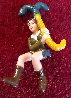 Lara Croft Tomb Raider Miniature Action Figure Approx 8cm High • 4.99£