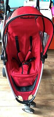 Quinny Zapp Xtra Rebel Red Travel System Single Seat Stroller • 15.50£